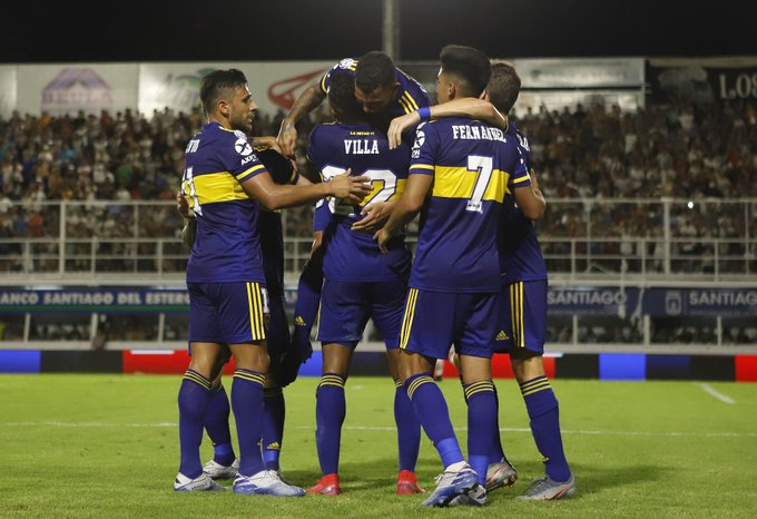 Central Córdoba vs. Boca Fecha 20 Superliga(Prensa Boca)